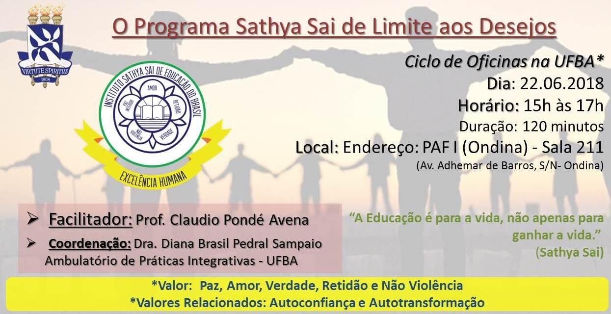 Programa Sathya Sai na UFBA