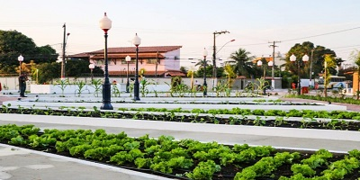 Maricá inaugura praça agroecológica