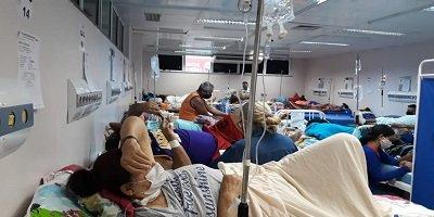 Brasil: UTI ocupadas